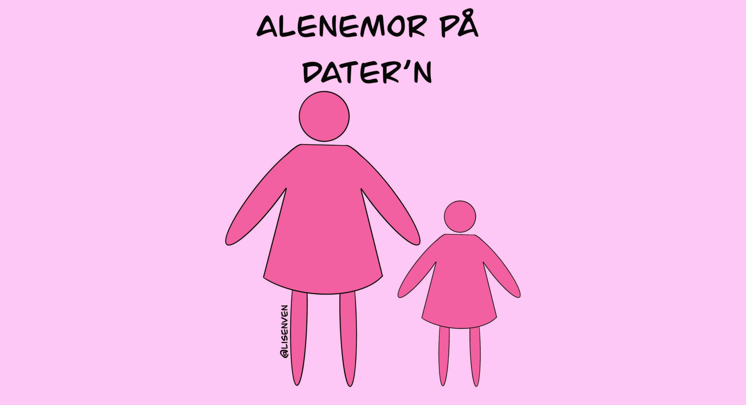 ALENEMOR: Er Det Virkelig Så Ille Eller Er Vi Undervurdert? Illustrasjon: Lisen Vennesland.