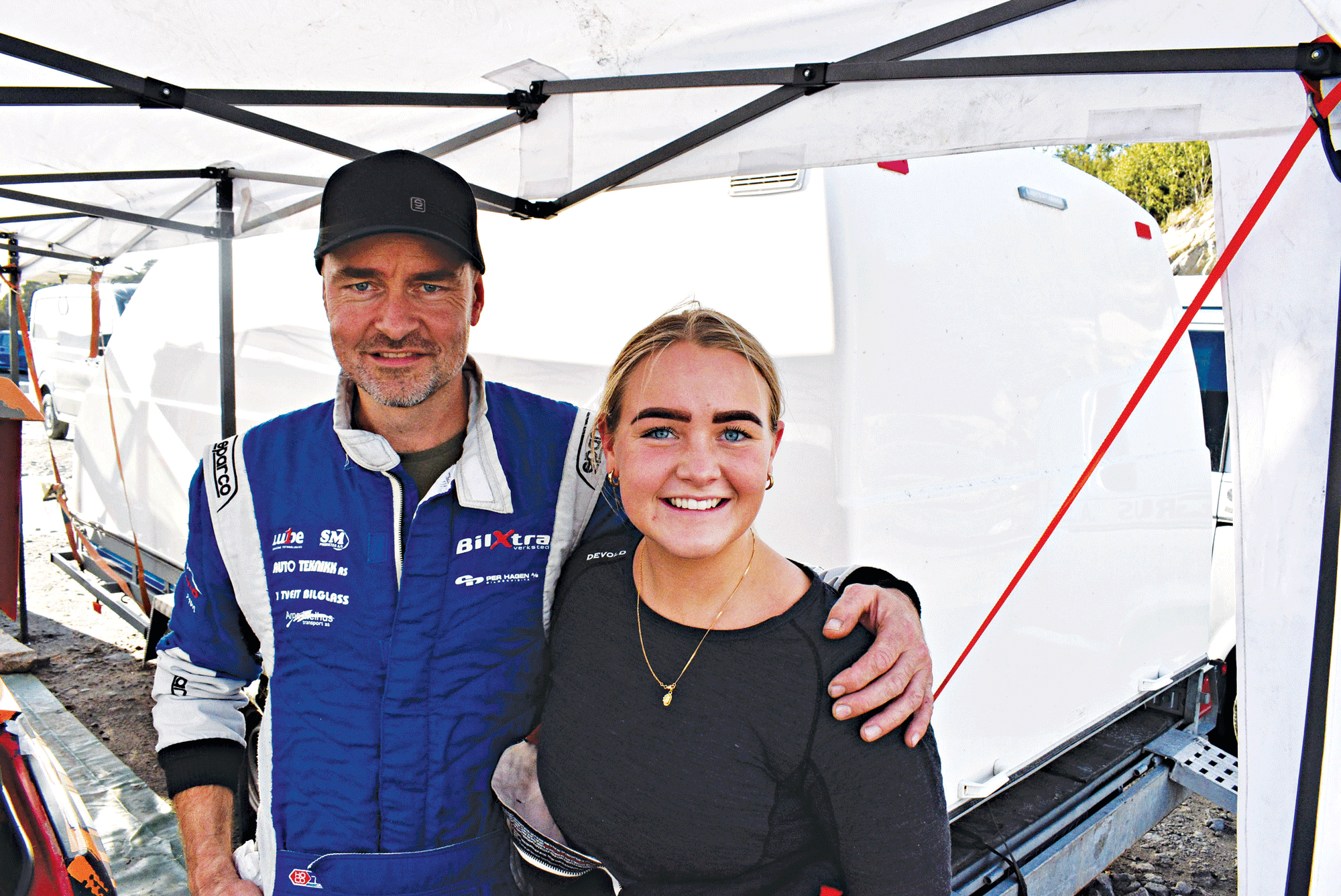 Svein Overrasket Seg Selv, Ble Nr. Tre I Rally Sørland