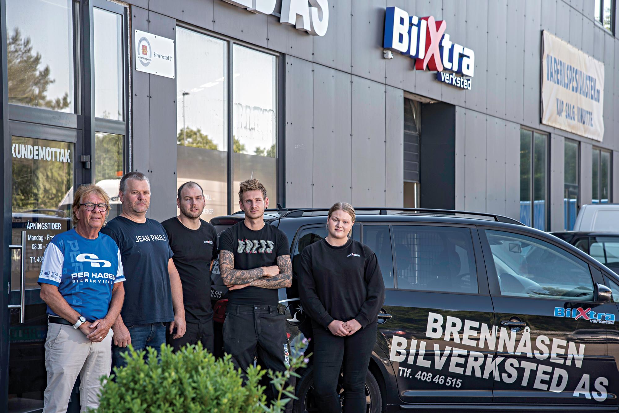 Nytt BilXtra Verksted I Brennåsen